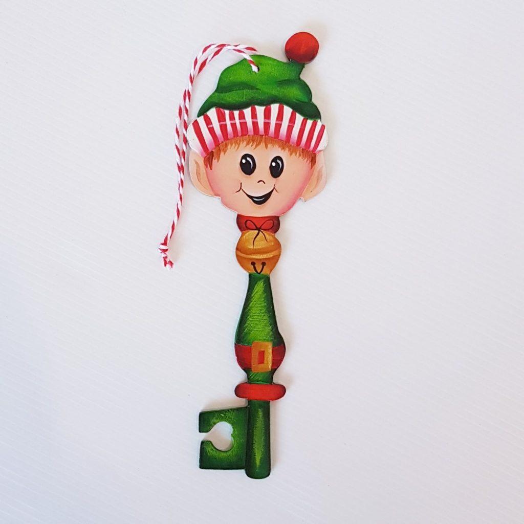 Elf Christmas Key