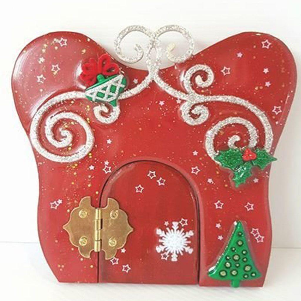 Christmas Fairy Door